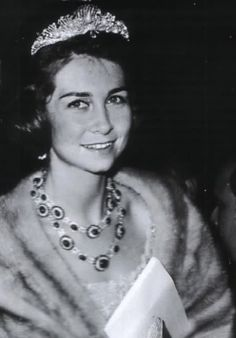 Queen Sofia of Spain as a young woman