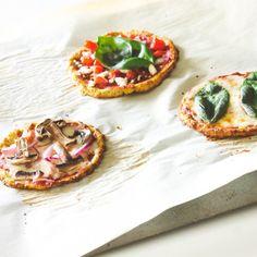 Mini Califlower Pizzas