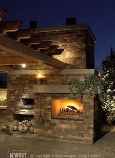 Pizza Oven & Fire Place