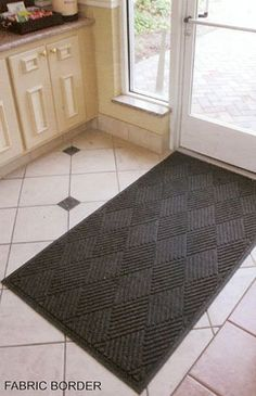 EcoGuard Commercial or Residential Entrance Mat - 4' x 8' - Charcoal by EcoGuard Floormats. $145.99. Bi level carpet surface provides scraping action. Ships In 7 - 10 Business Days!. Protects Floors From The Elements. 100% rubber backing provides maximum durability. Needle Punched Polypropelene Fiber. This Entrance Mat protects floors from the elements, trapping dirt and moisture on contact. 100% rubber backing provides maximum durability, while the needle-punch...