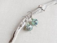 Sterling Silver earringsKyanite Gemstone EarringBoucles