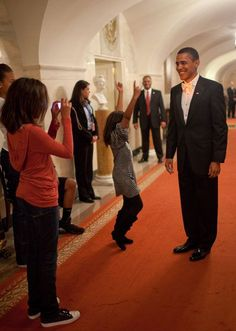 President Barack Obama is photographed by daughter Malia while Sasha celebrates prior to departing from the White House for Inaugural Balls, Jan. (Official White House Photo by Pete Souza) Most iconic Pete Souza photos of Obama family's. Black Presidents, Greatest Presidents, American Presidents, Presidents Usa, American History, Barack Obama Family, Malia Obama, Obama Daughter, First Daughter