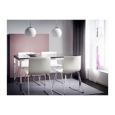 MINUT Pendellamp IKEA Verspreid licht; geeft algemene verlichting.
