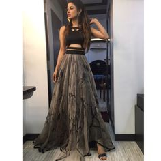 ideas sewing patterns dresses prom evening gowns for 2019 Designer Party Wear Dresses, Indian Designer Outfits, Designer Wear, Indian Outfits, Mouni Roy Dresses, Trendy Dresses, Fashion Dresses, Casual Indian Fashion, Hippie Fashion