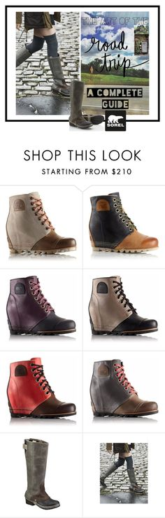 """""""The 1964 Premium Wedge from SOREL: Contest Entry"""" by yours-styling-best-friend ❤ liked on Polyvore featuring SOREL, Craftsman, CO and sorelstyle"""