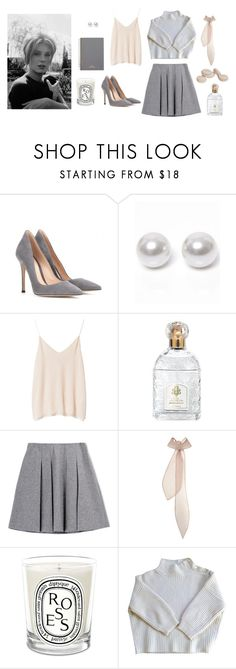 """belle de jour"" by diorstockings ❤ liked on Polyvore featuring Gianvito Rossi, Nouv-Elle, Zara, Guerlain, Fall Winter Spring Summer, Emilia Wickstead, Diptyque, Vanessa Bruno and Mulberry"