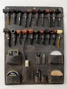 Leather Valet Tray, Leather Wall, Good Cigars, Cigars And Whiskey, Meerschaum Pipe, Pipes And Bongs, Pipes And Cigars, Pipe Smoking, Smoking Accessories