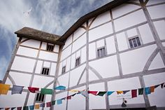 Shakespeare's Globe in the sunshine (and with some summery bunting to boot)… Film Class, Till We Meet Again, The Merchant Of Venice, Theatre Shows, Online Sites, Drama Film, Globe Theatre, Theater, Educational Activities