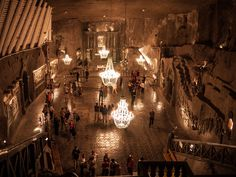 The Wieliczka Salt Mine, Poland - Album on Imgur