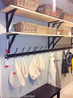 Storage tips and ideas from Ikea