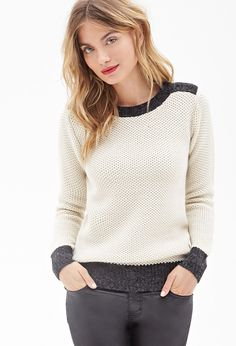 Waffle Knit Pullover #F21Contemporary
