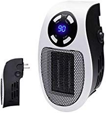 Best Bathroom Heater for Those Chilly Mornings.  Brightown Handy Wall-outlet space heater,    #AdvanceMyHouse #BathroomHeater Best Space Heater, Bathroom Heater, Portable Heater, Office Desktop, Wall Outlets, See On Tv, Wall Spaces, Living Spaces, Cool Walls
