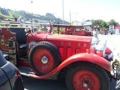 Kitzbühel klassische Feuerwehrfahrzeuge