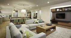Carlisle Homes - Sunbury Open Plan Living