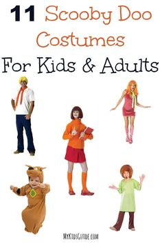 Scooby Doo Costumes for Kids and Adults   MyKidsGuide.com Spooky Halloween Costumes, Halloween Desserts, Halloween 2015, Halloween Themes, Cool Costumes, Holidays Halloween, Christmas Holidays, Halloween Stuff, Costume Ideas
