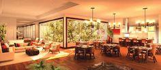 jardim de inverno num restaurante. podia muito bem ser numa sala de jantar ou de estar ❤️vanuska❤️