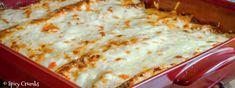 Burrito zapečené se sýrem a zakysanou smetanou - Spicy Crumbs