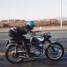 Ride that bike girl.