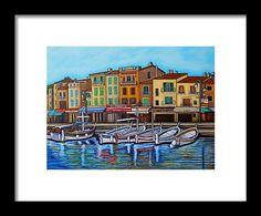 Colours of Cassis Fine Art Frame Print