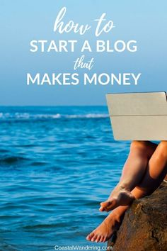 Here's how to start a blog that makes money (without wasting your own time or money), whether you want some extra money for your travel fund or to quit your 9 to 5. This beginner's guide to blogging walks you through the key details–like choosing your platform and host–that will impact your income as well as pros and cons to monetization strategies, like affiliate marketing, ads, selling digital products and sponsored posts.  #blogging  #beginnerblog  #blogstrategies via @coastalwandering Work From Home Tips, Make Money From Home, Make Money Online, How To Make Money, Travel Fund, Travel Vlog, Blogging For Beginners, Extra Money, Personal Finance
