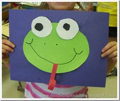 Thanks to Doodle Bugs Teaching for a cute Froggy art project to start the school year as we LEAP into LEARNING!