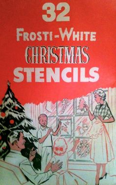 Frosti-White Christmas Stencils * 1500 free paper dolls Christmas gifts artist Arielle Gabriels The International Paper Doll Society also free paper dolls The China Adventures of Arielle Gabriel * Ghost Of Christmas Past, 1st Christmas, White Christmas, Christmas Gifts, Vintage Christmas Crafts, Vintage Christmas Images, Christmas Decorations, Atlanta Museums, Vintage Happy New Year
