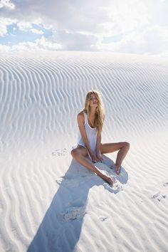 White sands #desert #white // July