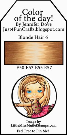 Color of the Day 172 -Blonde Hair 6