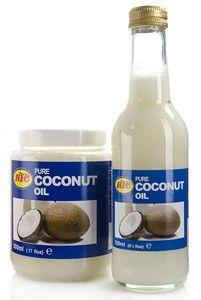 KTC - Huile de Coco naturelle, Coconut Oil  100% Huile de noix de coco pure. Qualité prémium.