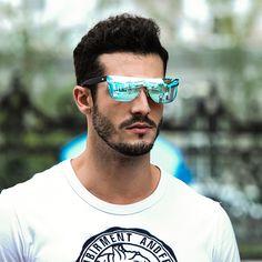 ea0f5deaa2 Buy HDCRAFTER Brand Designer Sunglasses Men Oversized Flat Lens Rimless  Square Frame Women Sun Glasses for