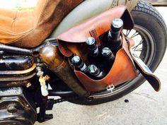 Beer satchel.