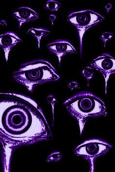 Purple Aesthetic, Grunge, Glow