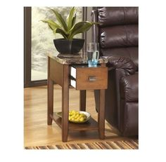 Chairside End Tables Ashley Furniture Signature Designs Living Room Family Room  #AshleyFurniture #Contemporary