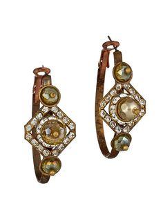 Trendy Jewelry | Twisted Silver | Celebrity Jewelry | Funky Jewelry - Tilly earrings