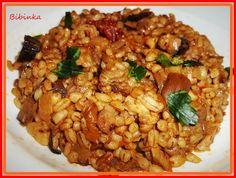 Fried Rice, Fries, Cooking, Ethnic Recipes, Anna, Bulgur, Kitchen, Nasi Goreng, Stir Fry Rice