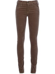 CITIZENS OF HUMANITY 'Avedon' Velvet Skinny Jean.  I have these in Rose .  These ones are way overpriced but I'd love them in brown.