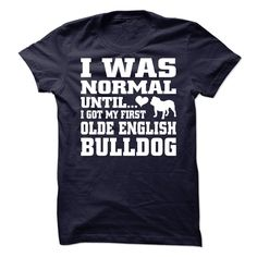 Olde English Bulldog Cool Olde English Bulldogge T Shirt (*_*)