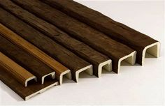 Faux Wood Ceiling Beams | The Look of Wood for Less