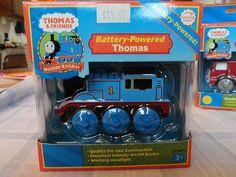 Thomas the Train - THOMAS- Battery powered - UNOPENED box w/ working headllights
