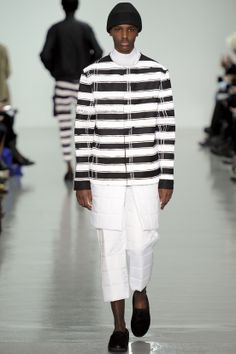 See all the Collection photos from Agi & Sam Autumn/Winter 2014 Menswear now on British Vogue Fashion Wear, Fashion Show, Mens Fashion, Fashion Design, Vogue Paris, Men's Collection, Winter Collection, African Clothing For Men, Fall Winter 2014