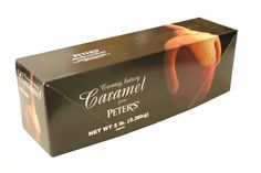 Creamy Caramel, 5 lbs. A super caramel made by Peter's Chocolate (formerly Nestle).. Dip in coating or use to make caramel apples.. Mix with nuts, coconut or your other favorite ingredients. Five pound loaf..