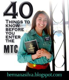 Sister Emily Silva: Tips to know before entering the MTC
