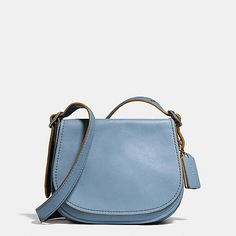 Saddle Bag 23 in Glovetanned Leather #coach