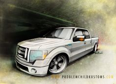 A little F-150 project from a few months back... #art #illustration #cars