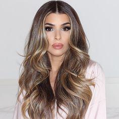 Hair on fleek by the best @bevasconcelos ❤️ #saudiarabia #makeupdolls #mydubai…