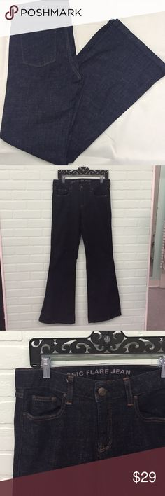 "J. Crew Classic Flare Jean Size 29 Excellent condition and like new. Size 29. 33"" inseam and 10"" rise. Smoke free home. J. Crew Jeans Flare & Wide Leg"