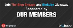 Hi everyone and welcome to our newest mini contest where we giveaway a 1 free year of our Blog Engage and Blokube Marketing Services.