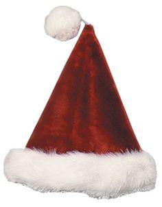0b532a708d41a Santa Hat Velvt Plush Burgundy