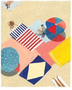 Beach Etiquette - Kinfolk - Katrin Coetzer