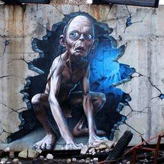 O artista SmugOne cria incríveis murais e apesar de manter discrição seu trabalho já é destaque no mundo todo. Confira!